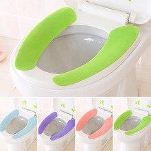 Le tampon de toilette solide Olor peut être coupé et collé des autocollants de toilette imperméables peuvent être lavés toilettes universelles