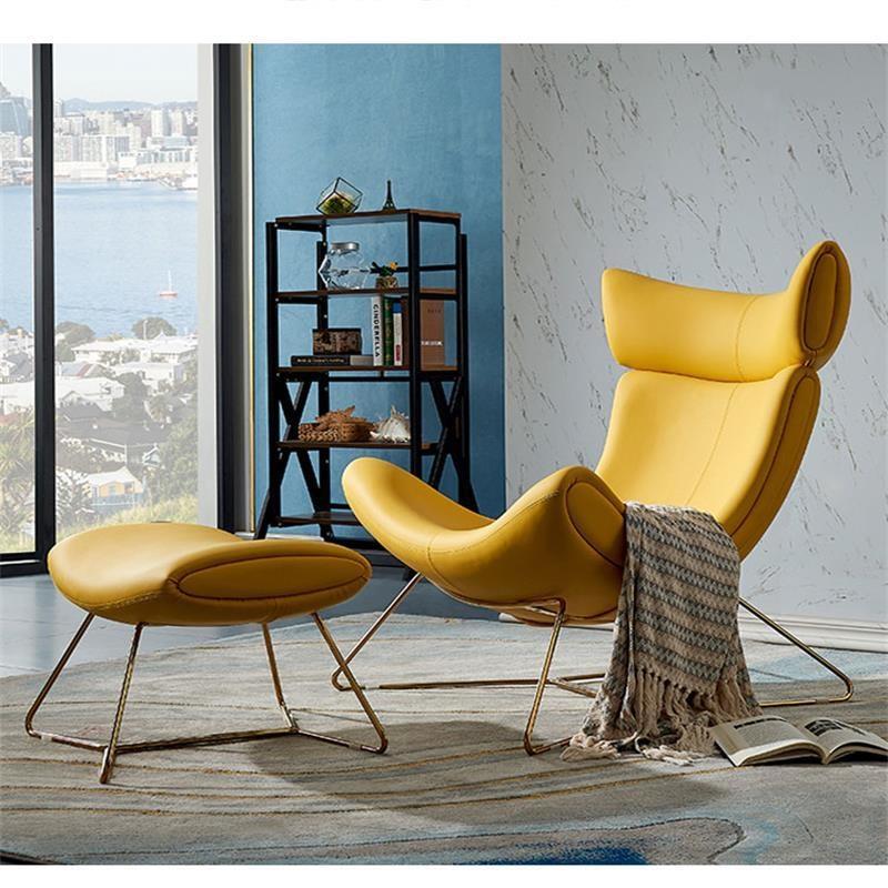 كرسي بذراع من الألياف الزجاجية Imola ، أثاث صالة من الجلد الصناعي الحديث ، كرسي بذراع