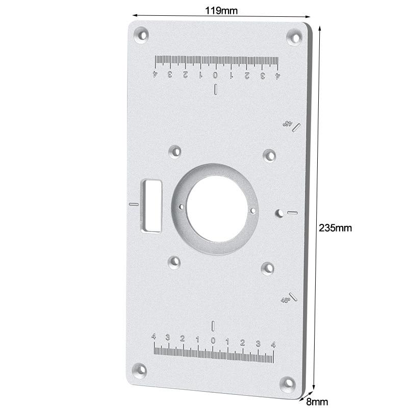 Multifunctionele aluminium freestafel insteekplaat - Houtbewerkingsmachines - Foto 6
