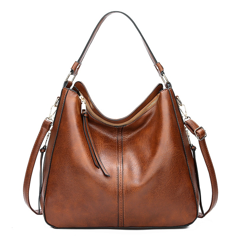 Hobos Europe Crossbody Bag Ladies Vintage Famous Brand Luxury Handbags Women Bags Designer Soft Leather Bags For Women 2021 sac