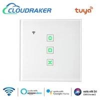 Tuya     interrupteur intelligent pour rideaux roulants  Module dautomatisation WIFI pour stores electriques  moteur avec commande vocale alexe Google Home