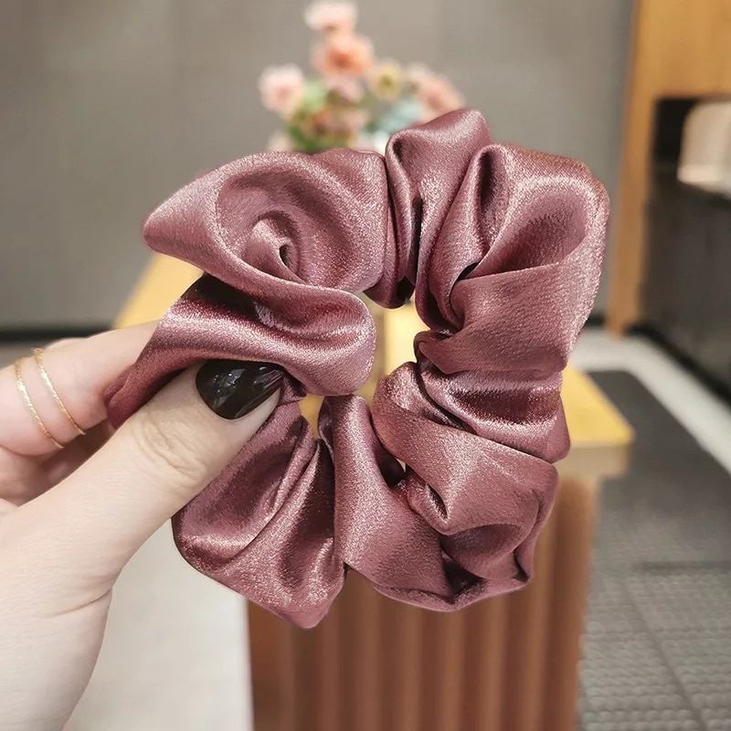 3pcs/set Women Fashion New Accessories Casual Elastic Ring Hair Loop Headwear Dress Up Sweet Head Bands Large Hair Rings Girls