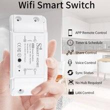 Nuova presa per interruttore remoto senza fili intelligente fai-da-te Smart Home Automation telecomando interruttore relè Smart Life/Tuya con Alexa Google