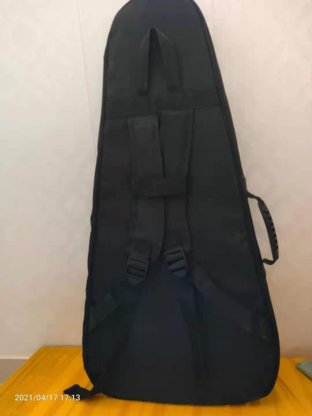 Top grade headless guitar special cotton soft bag, can carry, can back very convenient, free shipping enlarge