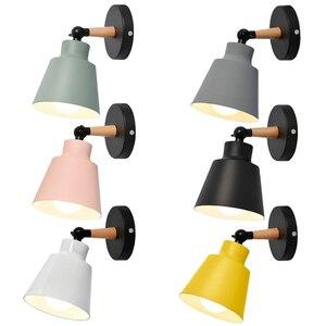 Современный светодиодный настенный светильник бра прикроватные светильники Светильник ing Спальня прихожей