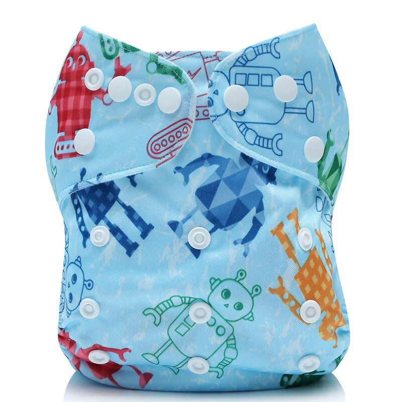 Cloth Diaper Cover Wrap Suit 3-15KG Washable Diapers Couches Lavables Reusable newborn Baby Diapers Pocket Cloth Nappy One Size fashion cartoon print diaper pocket washable diapers couches lavables baby nappy reusable nappy baby cloth diapers