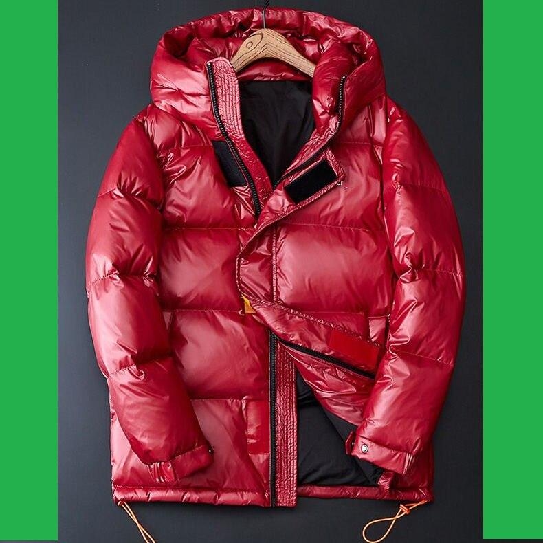 Men Down Jacket Winter Boys Down Coat Plus Size Men Winter Jackets Warm Outerwear M L XL XXL 3XL 4XL