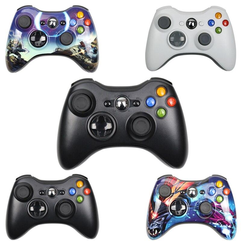 غمبد ل Xbox 360 لاسلكي/ذراع تحكّم سلكيّة ل XBOX 360 تحكم عصا تحكم لاسلكية ل XBOX360 أذرع التحكم في ألعاب الفيديو Joypad