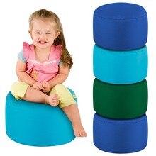 various colors waterproof colorful bean bag footstool , beanbag cubes ottmans and seats
