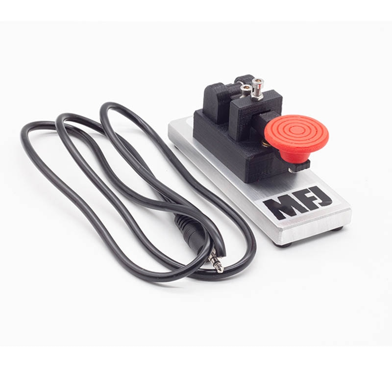 MFJ-566M radio portátil para aficionados con tecla de mano Morse CW telegraph