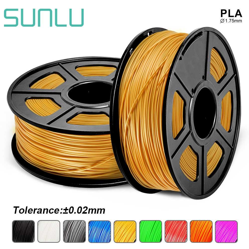 Impresora 3D, filamento PLA de 1,75mm, bolígrafos 3D de plástico, filamento PLA 3D de 1KG con carrete, material consumible para niños