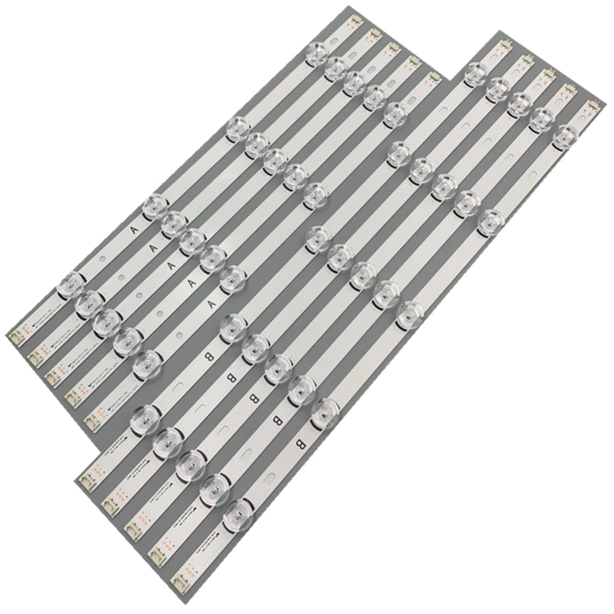 1 مجموعة = 10 قطعة LED قطاع LG Innotek Drt 3.0 50