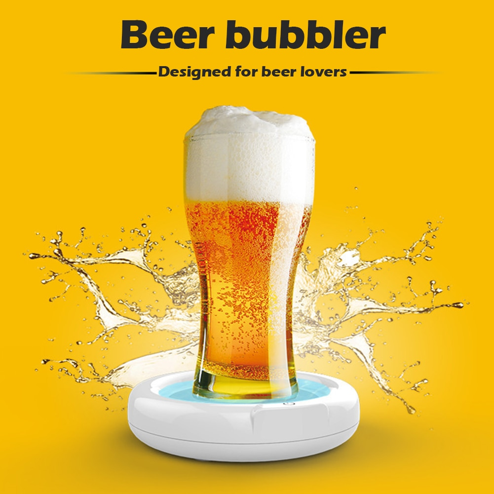 Фото - Home Lager Beer Foamer Surger Unit Sonic Beer Foamer Perfect Head Frother NEW for Gift Home Lager Beer Foamer охладительная рубашка active cooler beer lager j hook 0 33 0 5 л 38549606 vacuvin