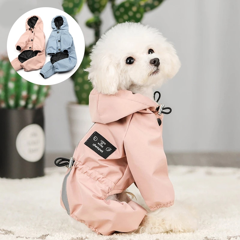 Impermeable Perro Ropa de Perro chaqueta Ropa Para Ubranka Dla Psa Para...