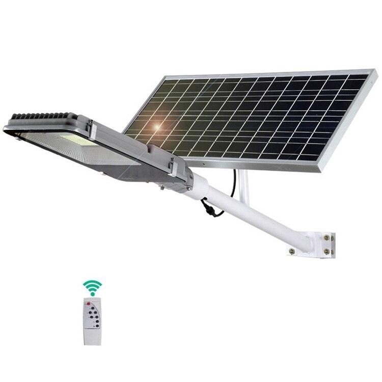 100w 200w 300watt ip66 controller di sistema di alimentazione ibrido wind energy luminarias pannello solare die cast di via del led luce