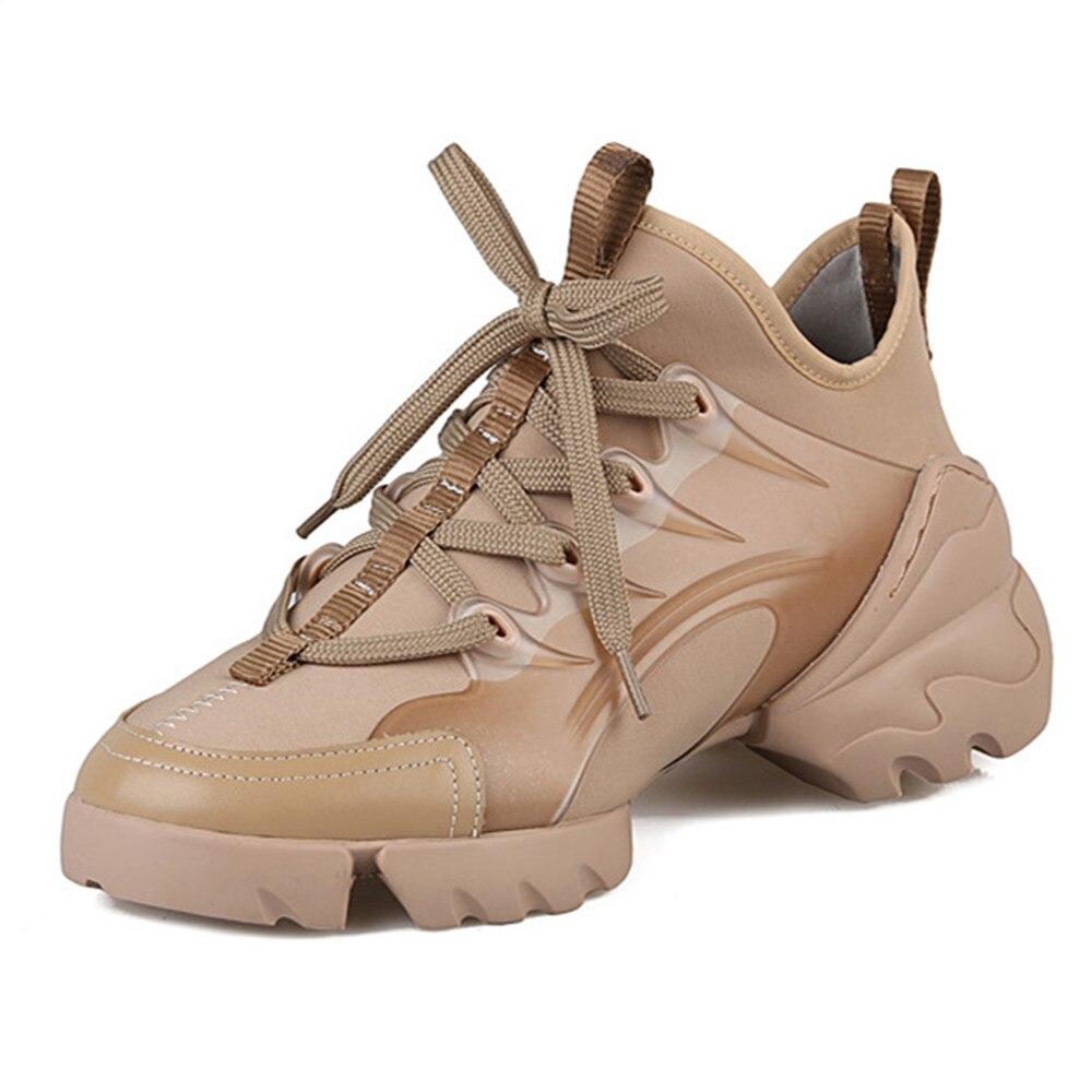 MoonMeek حجم كبير 34-41 الساخن 2020 عالية الجودة ماركة النساء أحذية رياضية الدانتيل يصل منصة حذاء مسطح السيدات الفاخرة حذاء كاجوال
