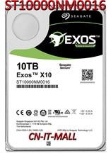 Seagate Exos ST10000NM0016 10 to (hélium) 7200 tr/min SATA 6 Gb/s 256 mo Cache Hyperscale 512e disque dur interne