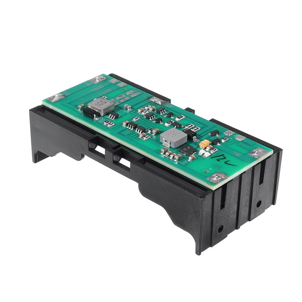 LEORY, paquete de batería de litio de 12V, Boost, carga equilibrada, descarga, módulo de alimentación integrado UPS, Placa de protección de batería, interruptor SW