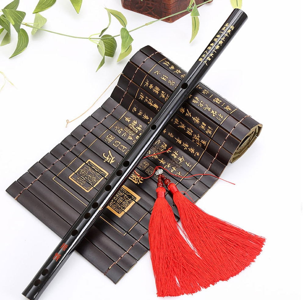 High Quality Chinese Traditional Musical Instruments Bamboo dizi Flute for beginner C D E F G Key Transverse Flute недорого