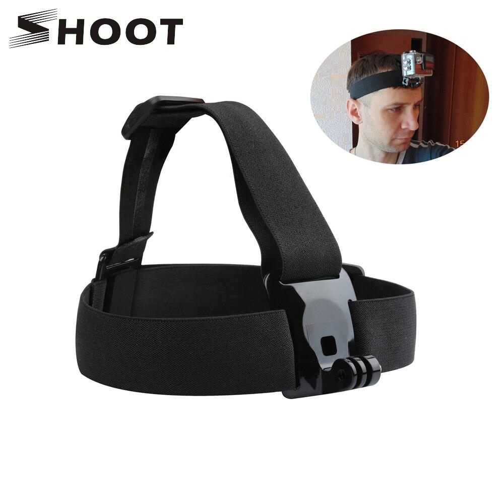 ATIRAR Elastic Chest Harness & Cabeça Strap para GoPro Hero Sjcam 7 5 6 Preto Sj4000 Yi 4K Eken câmera de Montagem para Go Pro 7 Acessório