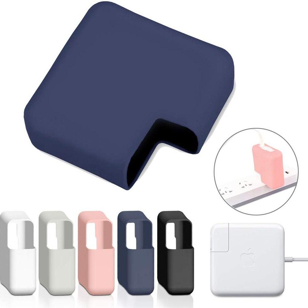 Carregador de Energia de Silicone macio caso de proteção para Macbook Air pro 11 13 15 16 2020 A2289 A1706 A1990 A1466 A2179 A2159 A2251 A2141