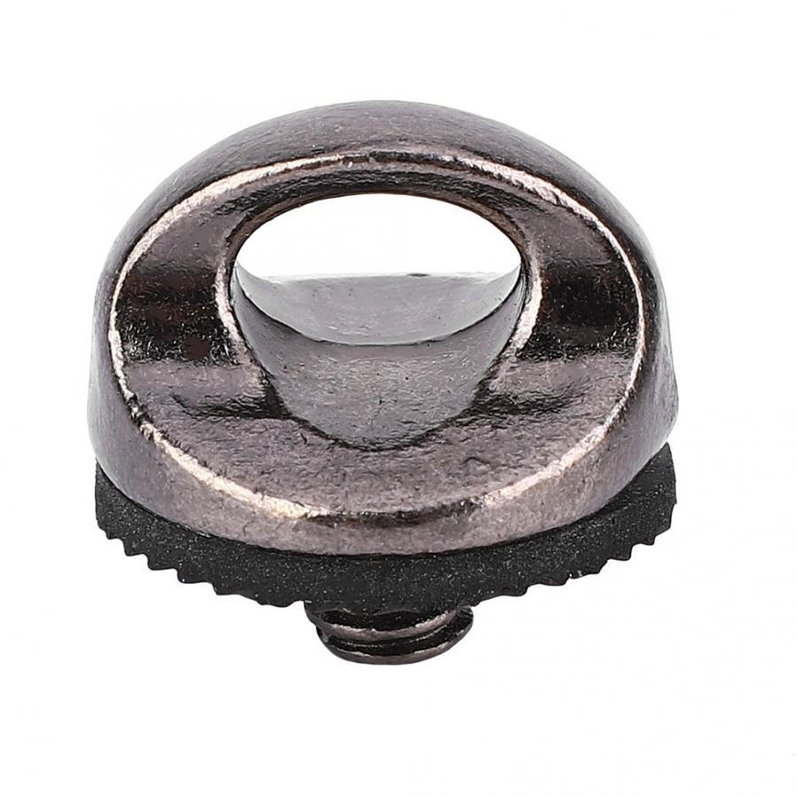 Tornillo de anillo adaptador de alta calidad de 1/4 pulgadas para cámara Correa colgante cuello correa de hombro cuerda accesorio