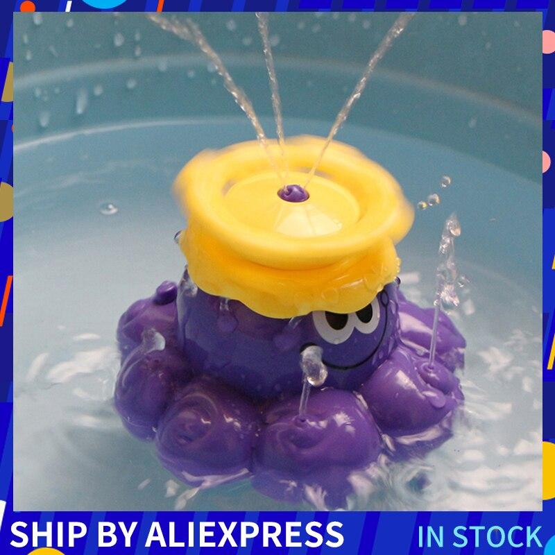 Детские Классические игрушки для плавания с изображением животных, Детские заводные на цепочке игрушки для купания
