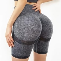 seamless yoga shorts women high waist short gym leggings slim fitness compression workout shorts women sexy nylon running shorts