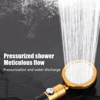 360 degrees rotating shower head adjustable water saving water head shower stop button shower with pressure head shower n7f8