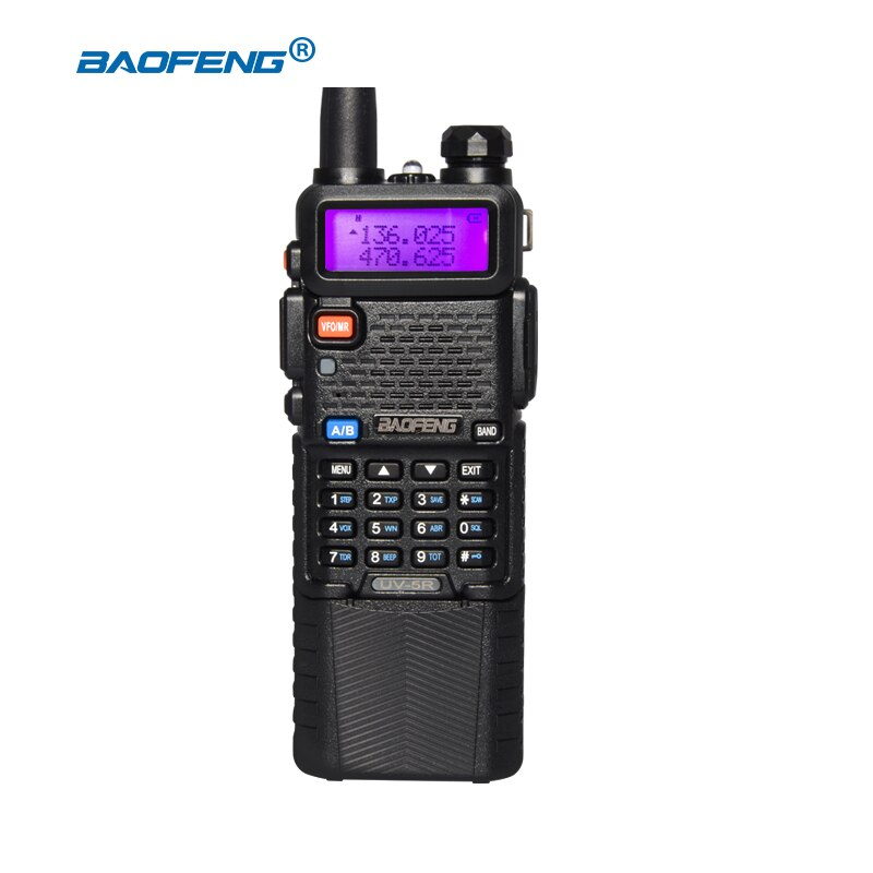 baofeng 5r walkie talkie 5w two way radio cb radio VHF UHF baofeng walkie talkie ham radio Dual Band FM Transceiver Amateur