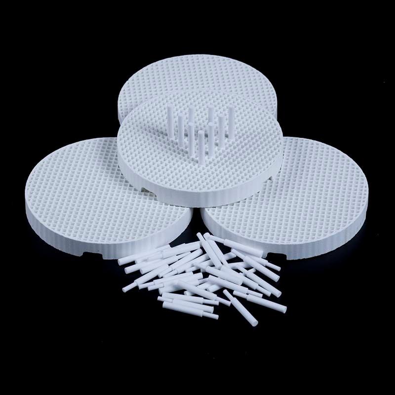 4 шт., сотовые обжимные лотки с 20 керамическими шпильками