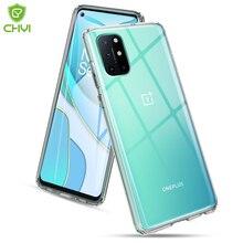 Luxe Transparante Shockproof Phone Case Voor Oneplus 8T 9 Pro 5G Tpu Bumper Anti-Drop Voor Nord n10 Met Krasbestendig Hard