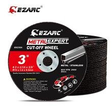 EZARC-ruedas cortadas para amoladora de troquel, disco de corte de acero, 25 uds., 75mm x 1,6mm x 9.5 rueda de cortar mm, Metal y sin satélite