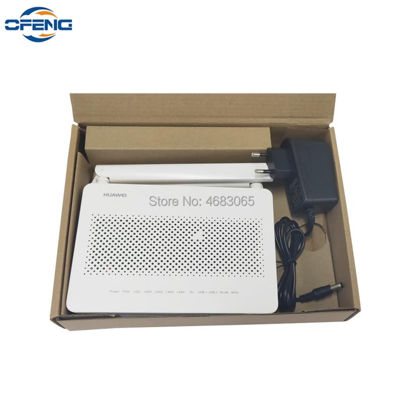 Free Shipping 7PCS Huawei ont EG8145V5 dual band WIFI 4GE+1TEL+WIFI 2.4G&5G Gpon ONU optic Network Terminal