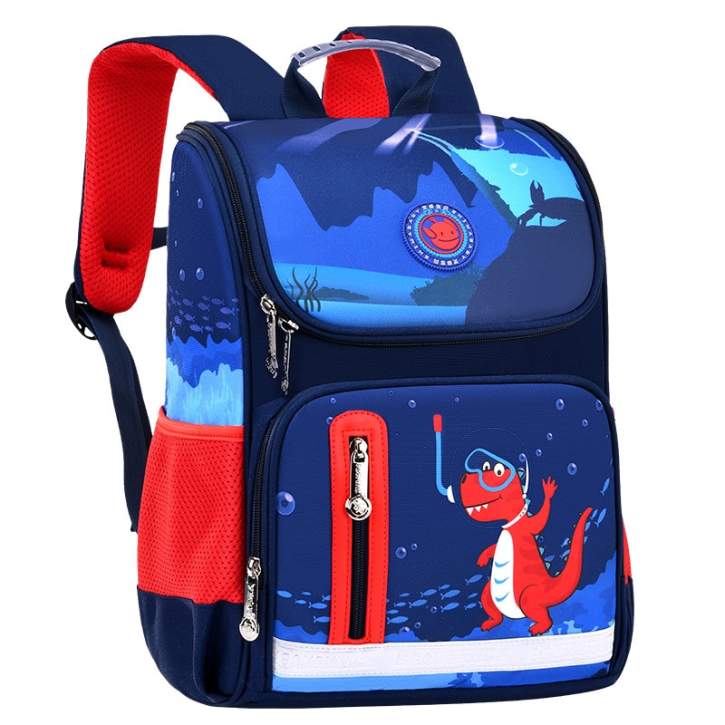 Dinosaur Children Backpack Kids Printed Waterproof School Bags boys book bags for teenage  Boy Girl cute Mochila