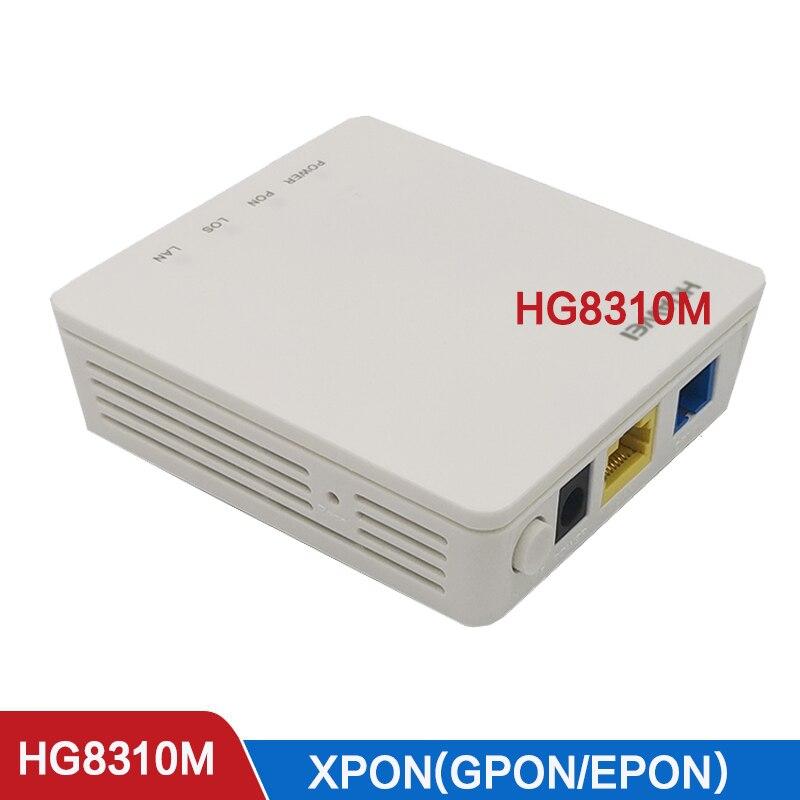 XPON onu Epon  ont hibrida FTTH fiberhome  modem Hg8310m  Second hand HG8010C 1GE GPON 10PCS 15pcs second hand hua wei hg8310m 1ge gpon ont onu without box