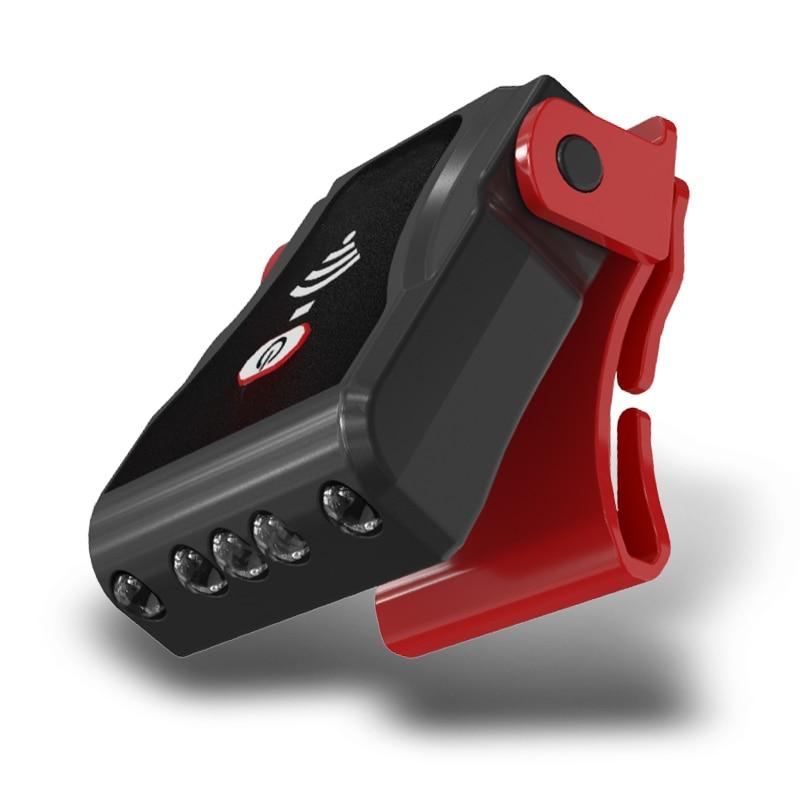 3 светодиодный Сенсор головной светильник Многофункциональный USB Перезаряжаемые фары клип на лампа на шапку светильник для съемки вне поме...