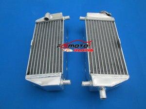 L&R Aluminum Radiator Alloy For 95 96 97 98 99 00 01 02 Kawasaki KX 125 KX 250 1994-2002