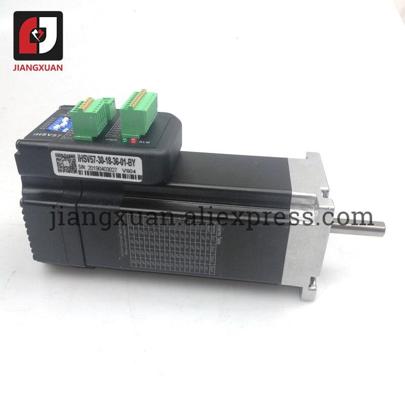 Original JMC iHSV57-30-18-36 180W 3000rpm NEMA23 0.57Nm integrado Servo Motor 36VDC iHSV57-30-18-36-01-BY