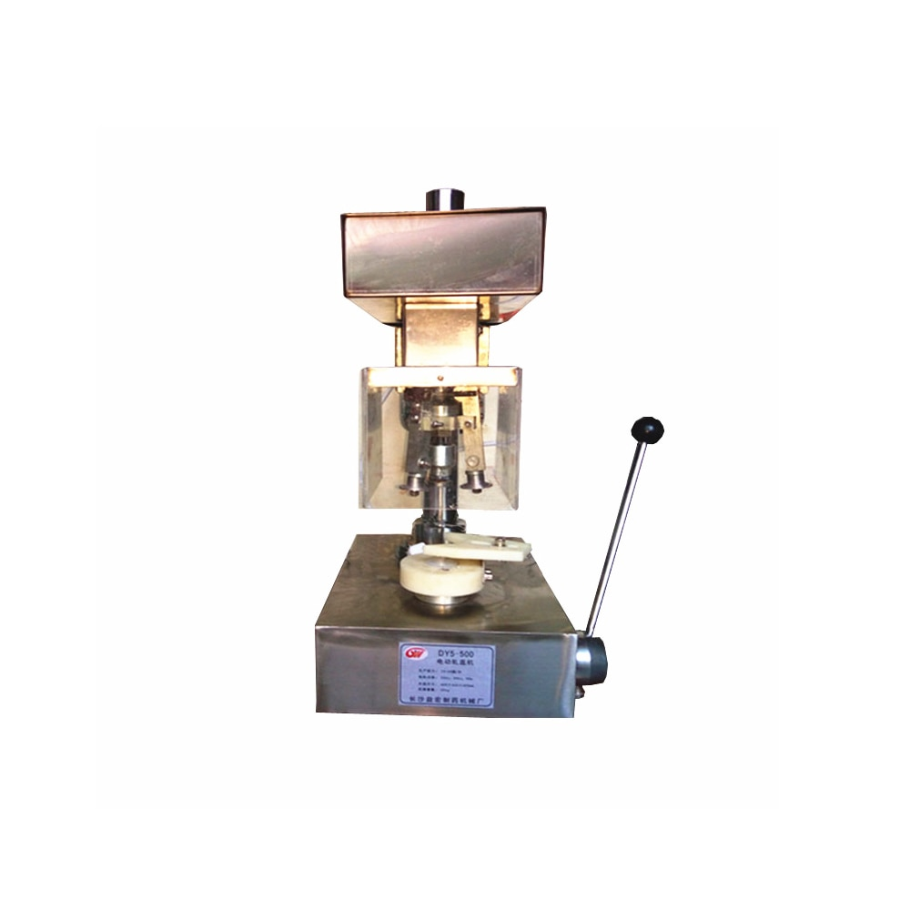2-500ml Medical Injection Fusion Vial Bottle Semi Auto Tabletop Electric Capping Machine