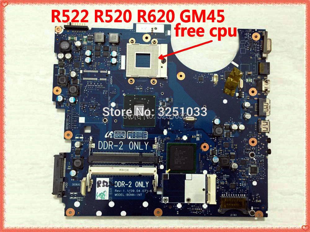 Para Samsung R522 R520 Laptop Motherboard BA41-01039A BA41-01040A BA41-01041A BA92-05528A BA92-05528B BA92-05711A GM45 DDR2