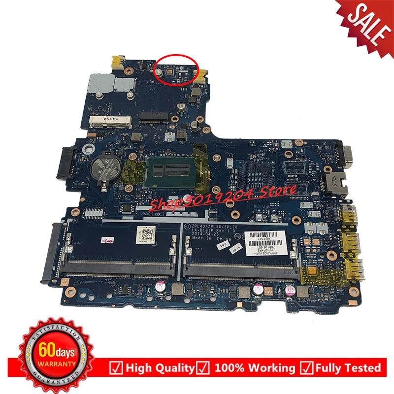 Para HP Probook 450 SR1EF I5-4210U G2 Laptop Motherboard 768146-601 768146-501 768146-773791-001 001 LA-B181P Mainboard