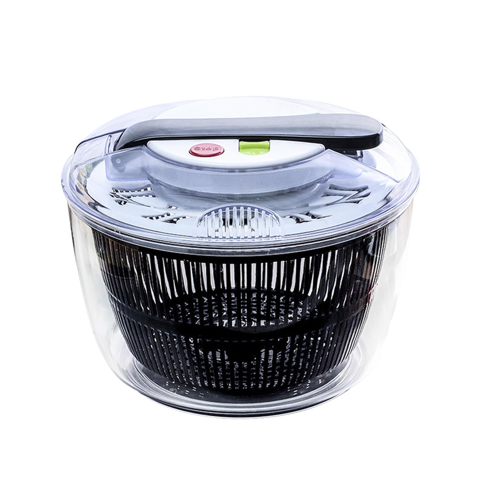 PP دليل الخضروات مجفف مبشرة سلطة دوارة تصفية الخضار المطبخ أداة سهلة نظيفة دفع نوع آلة سعة كبيرة المنزلية