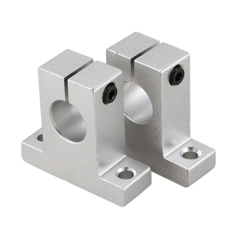 2 x SK16 16mm soporte de guía de eje de carril lineal para XYZ Mesa CNC