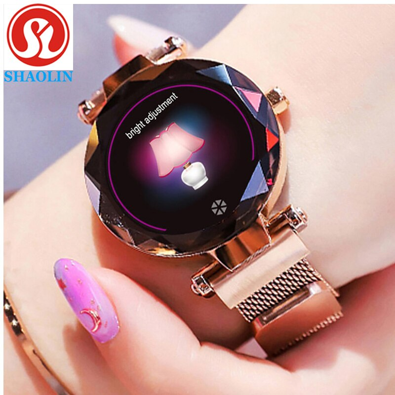 Smart Watch Continuous Heart Rate Detection IP67 Waterproof Female Physiology Reminder Tracker Wristband Bracelet