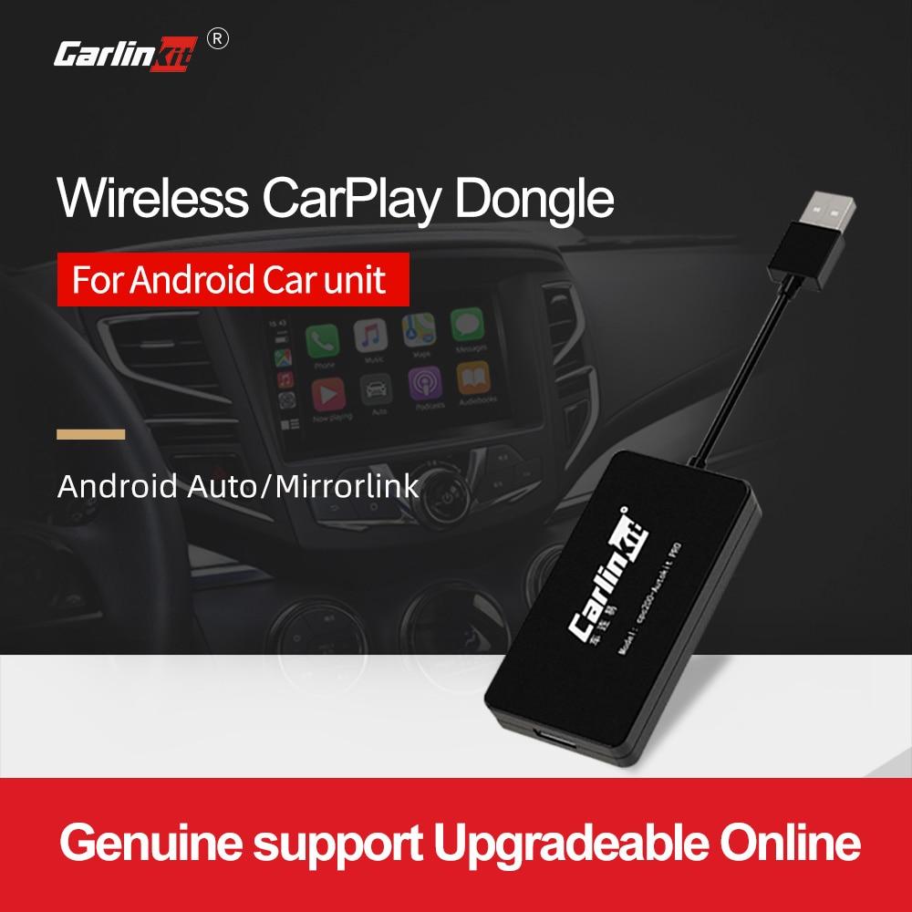 Carlinkit CarPlay صندوق أندرويد USB دونغل لتعديل أندرويد المضيف سيارة مشغل وسائط متعددة بلوتوث السيارات اتصال ميرورلينك 3