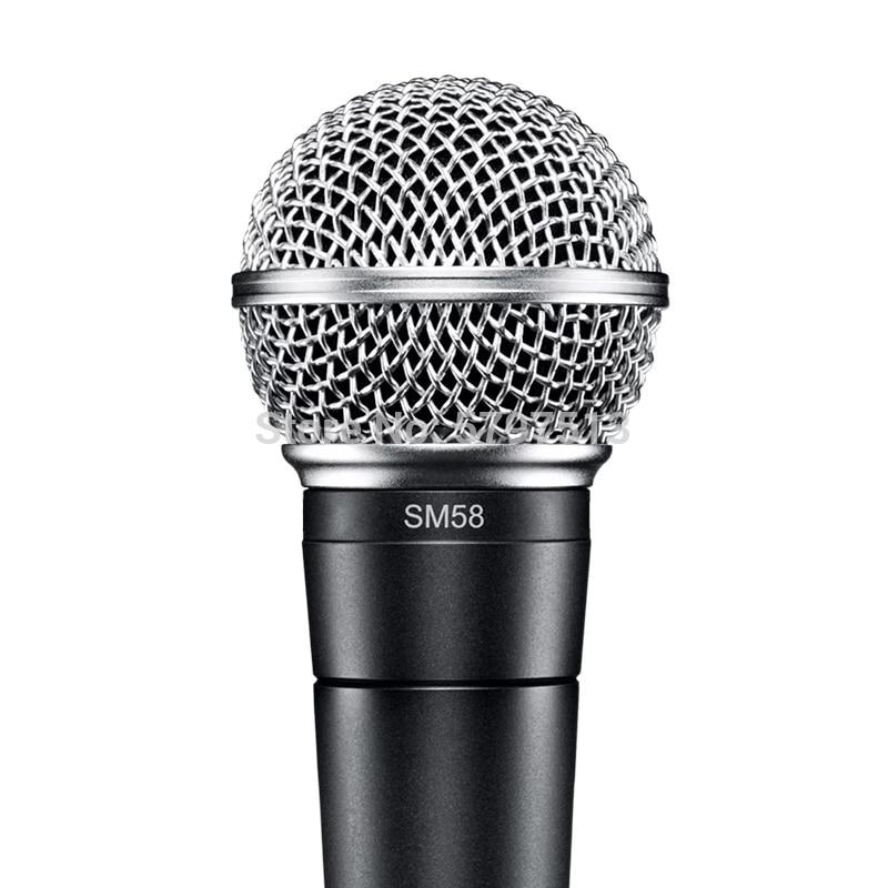 Micrófono dinámico con cable para Karaoke, dispositivo de mano legendario, para estudio...