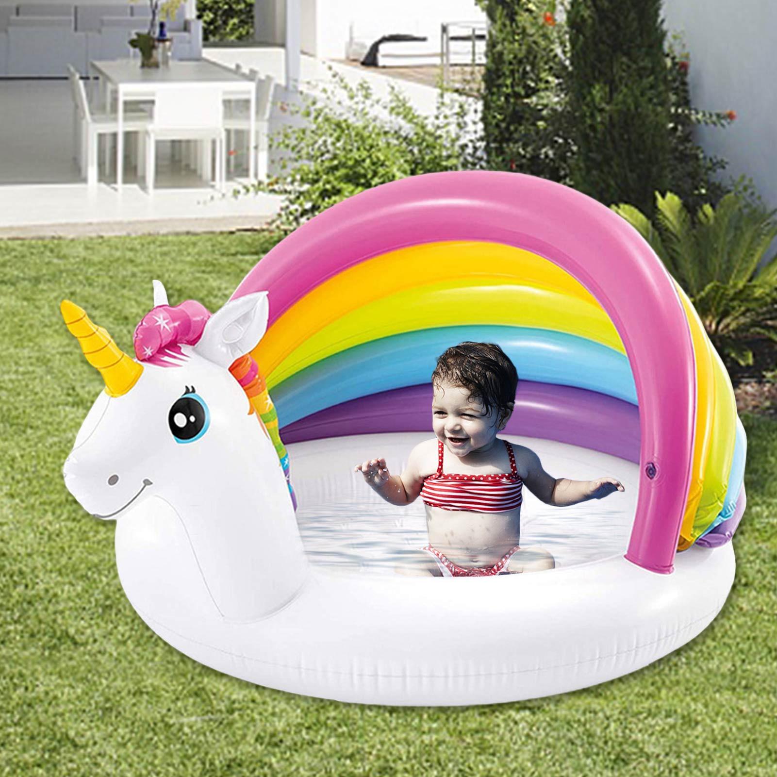 حمام سباحة قابل للنفخ قوس قزح التظليل قوس الكبار الأطفال بركة المحيط تجمع طوافة بلاستيكية للسباحة التجمعات رشاقته دائم