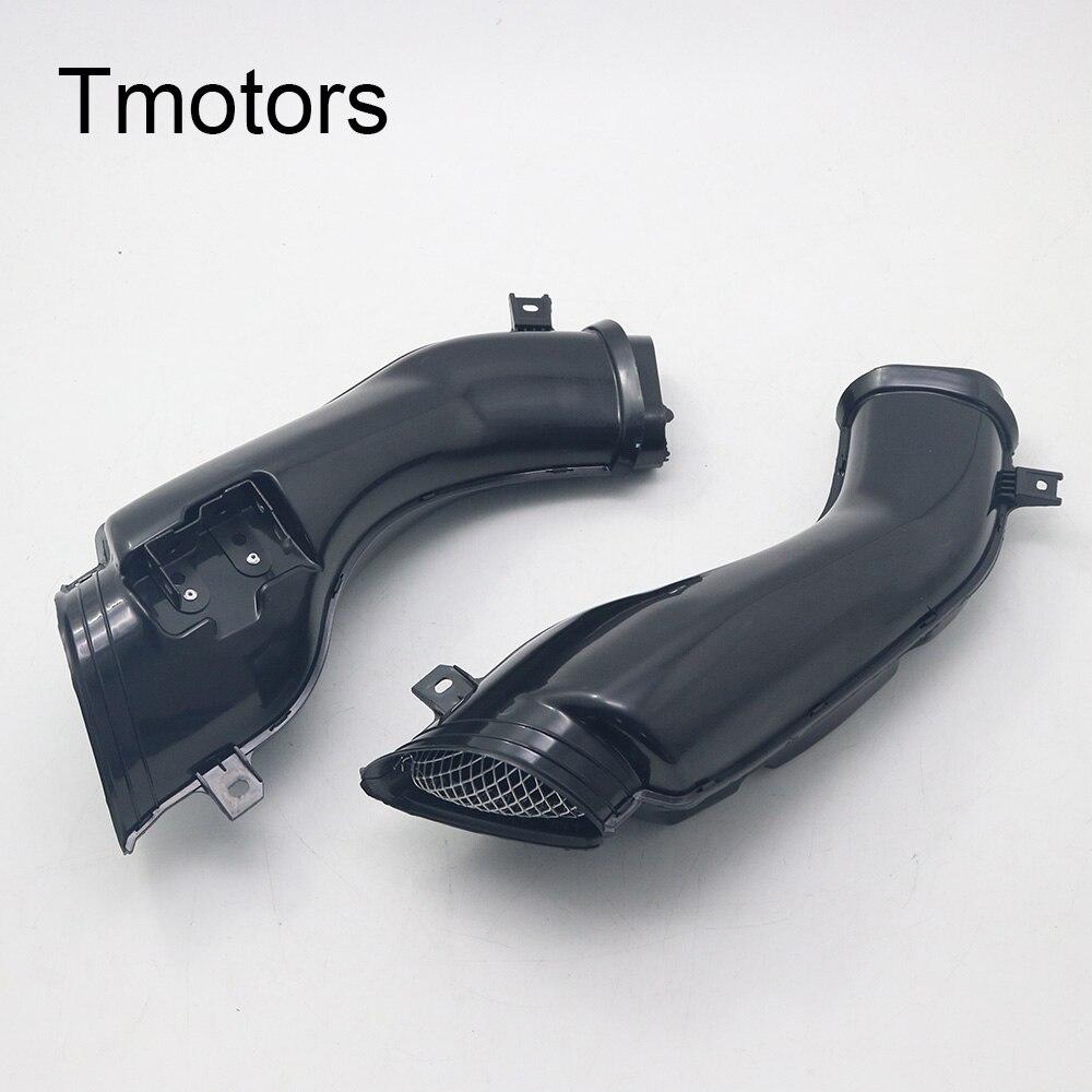 Мотоциклетные черные пластиковые трубы воздухозаборника для GSXR600 GSXR 600 2001 2003 GSXR1000