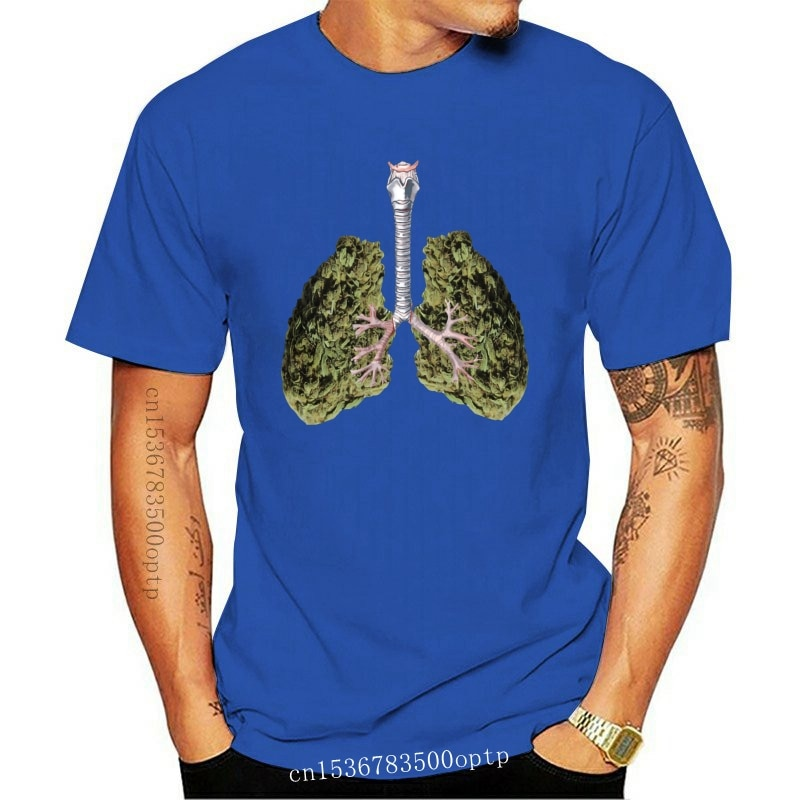 New A Look At My Weed Lungs Comics Tagless Tee T-Shirt Custom Men T Shirt Gift T-Shirt For Men Funny O-Neck Tshirt Unisex
